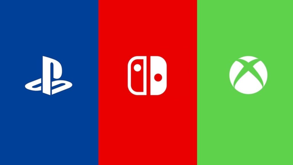 PlayStation Vs Switch Vs Xbox Logos 1024x576
