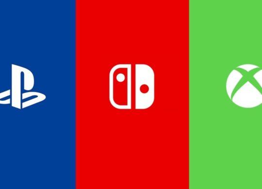 PlayStation vs Switch vs Xbox Logos