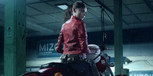 Resident Evil 2 Claire Redfield Harley Davidson 600x300
