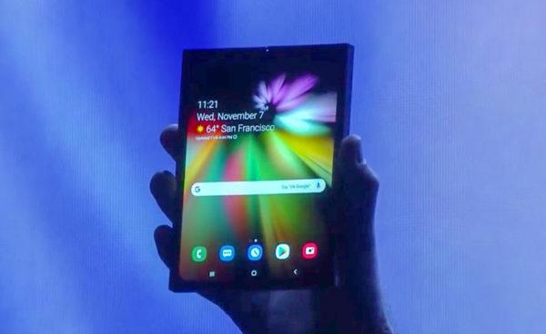 Samsung Smartphone Pliable Premier Apercu 600x368