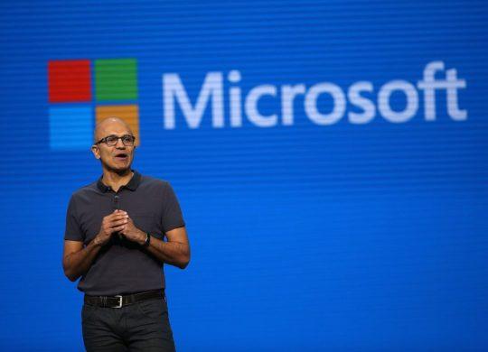 Satya Nadella Logo Microsoft