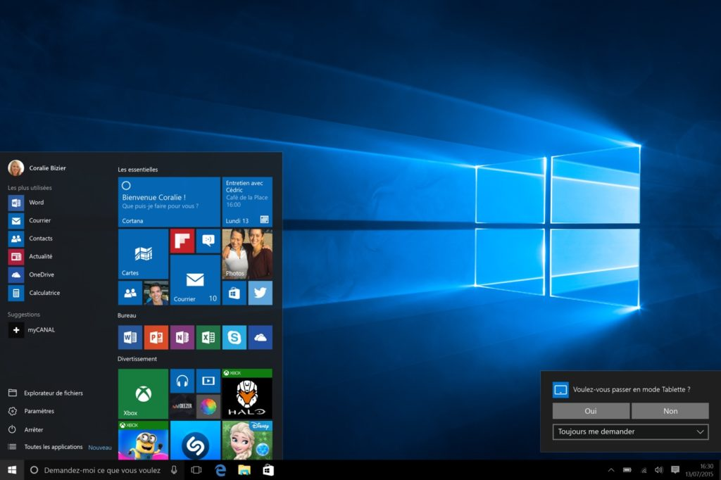 Windows 10 Bureau 1024x682