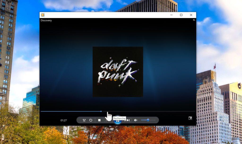Windows 10 Lecteur Windows Media 1024x611