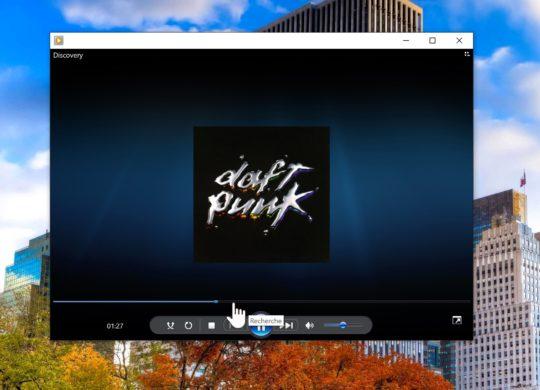Windows 10 Lecteur Windows Media