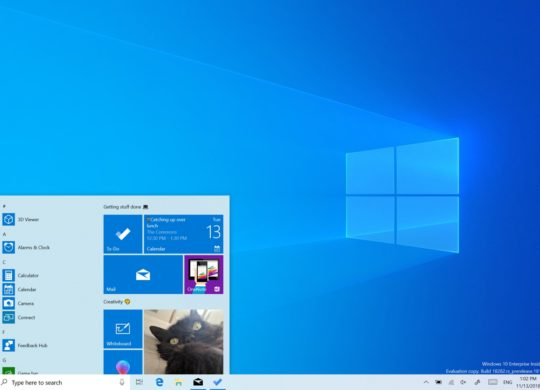 Windows 10 Nouveau Theme Clair Bureau