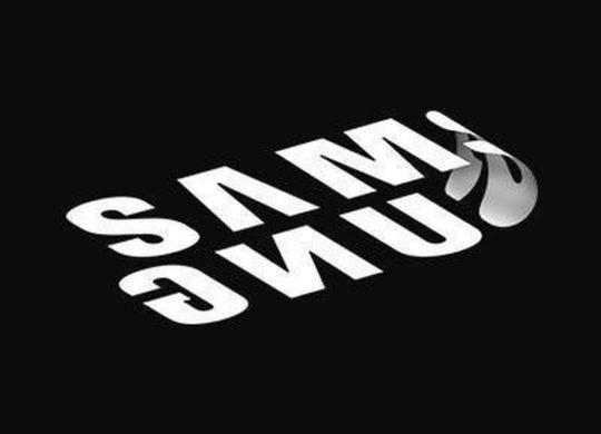 logo samsung pliable