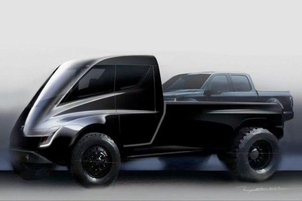 Tesla Pickup Concept 600x400
