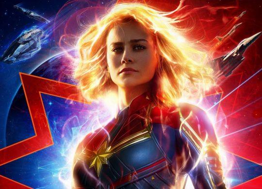 Captain Marvel Affiche Recadree