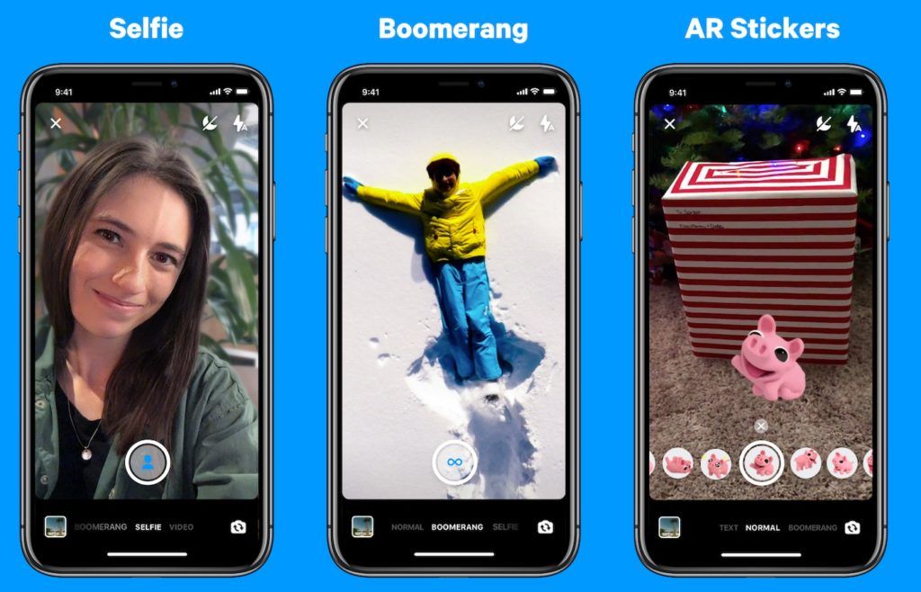 Facebook Messenger Mode Portrait Boomerang Autocollant 1024x658