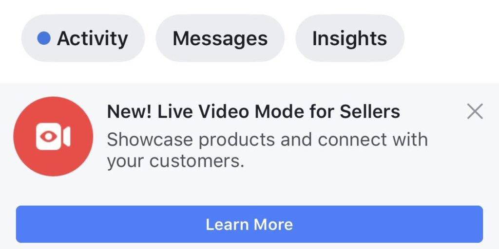Facebook Mode Pour Achats Directs 1024x512