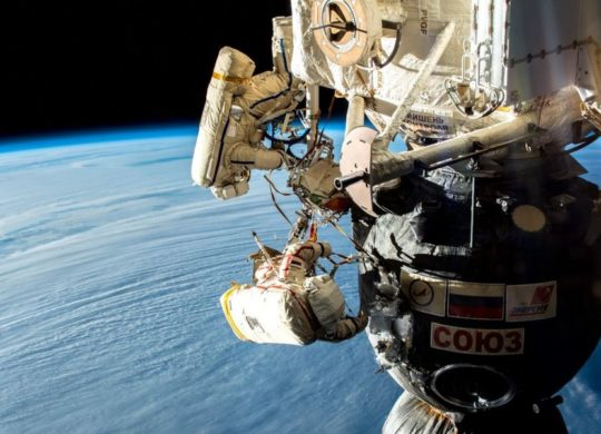 ISS sortie extravehiculaire