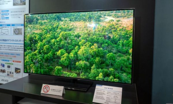 Joled Ecran OLED 4K Imprime 600x361