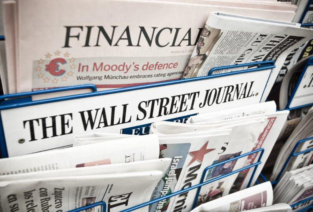 Journaux Wall Street Journal 1024x694