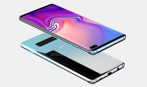Rendu Galaxy S10 Plus 3 600x355