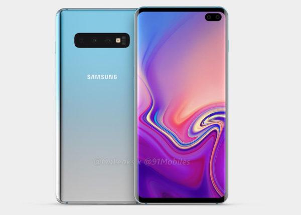 Rendu Galaxy S10 Plus 600x429