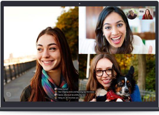 Skype transcriptions en temps reel