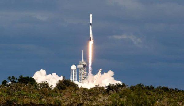 Space X 64 Satellites 600x348