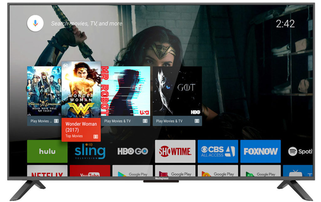 TV 4K Android TV 1024x644