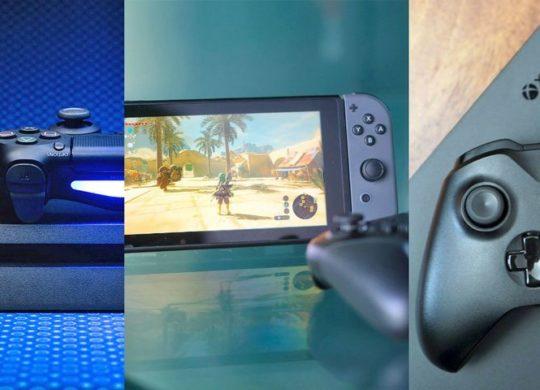 switch PS4 xbox one