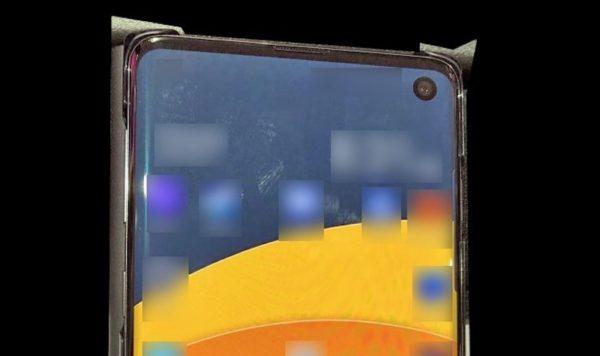 Fuite Galaxy S10 Avant Recadre 600x356
