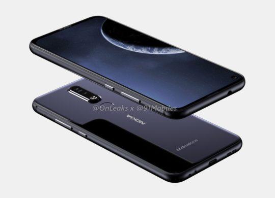 Fuite Nokia 8.1 Plus 2