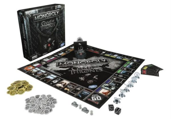 Game Of Thrones Monopoly 600x419