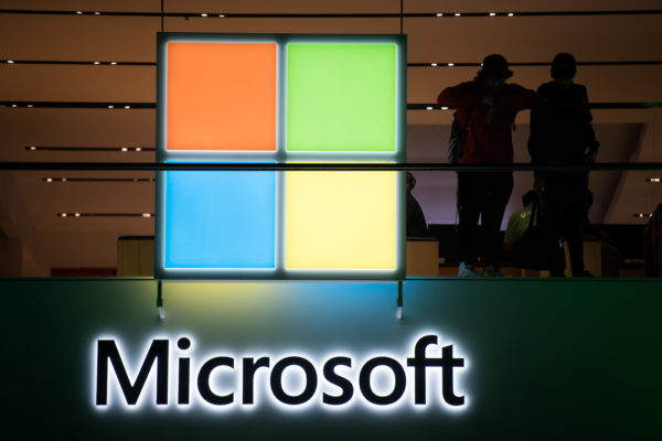 Microsoft Logo 600x400