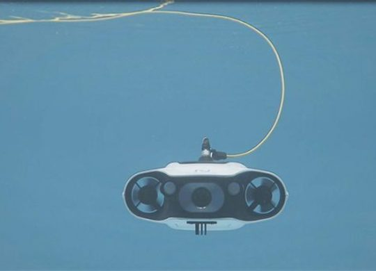 Navatics drone sous marin