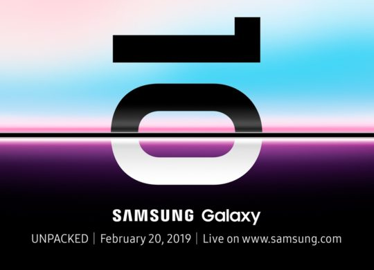 Samsung Conference 20 Fevrier 2019 Galaxy S10