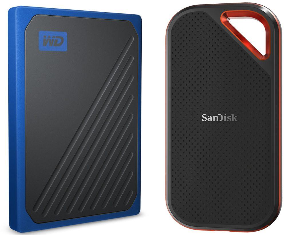 SanDisk SSD MyPassport Go Vs Extrem Pro 1024x822
