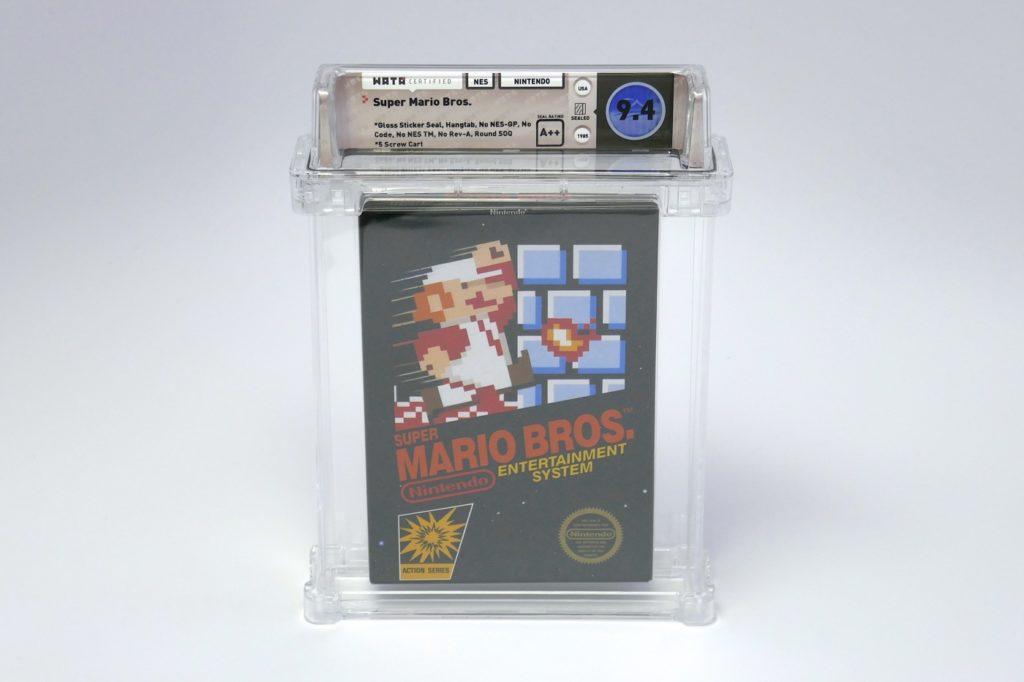 Super Mario Bros NES Vente Encheres 1024x682