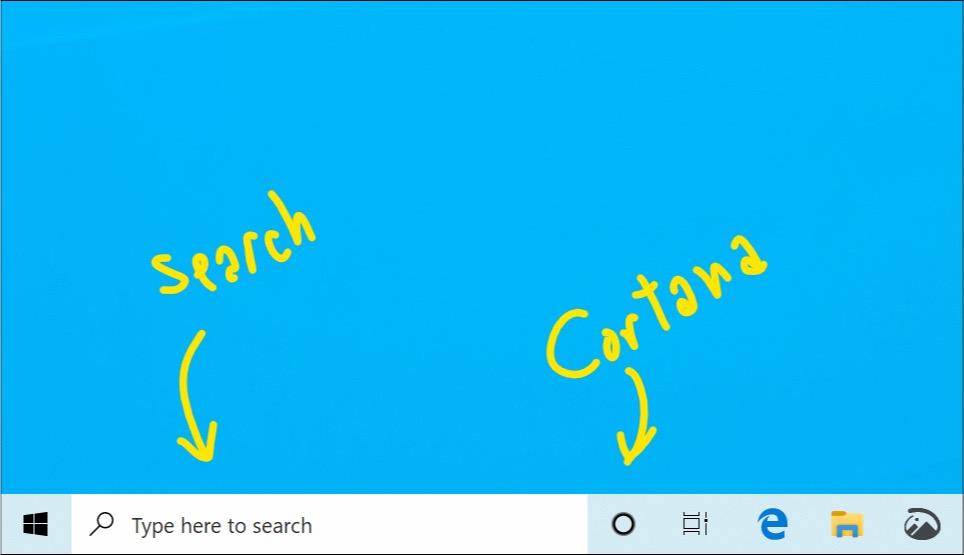 Windows 10 Recherche Et Cortana Separes