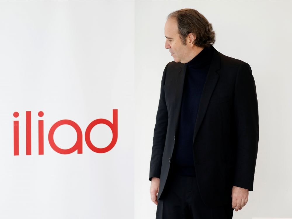 Xavier Niel Iliad Logo