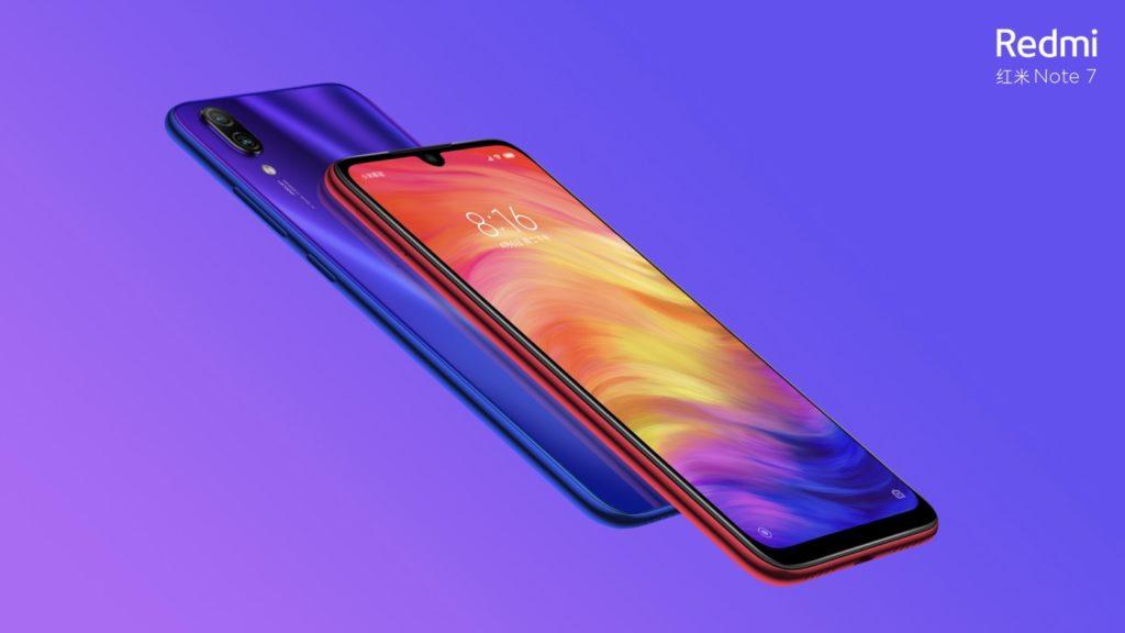 Xiaomi Redmi Note 7 Avant Arriere 1024x576