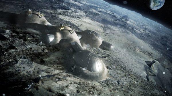 Base Lunaire ESA 600x338