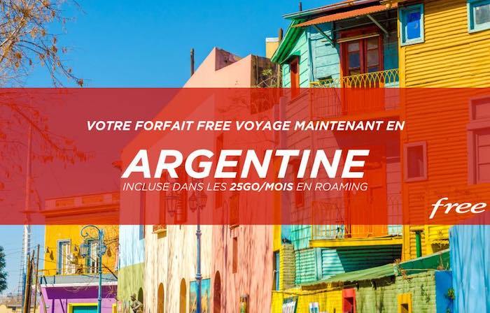 Free Mobile Roaming Argentine