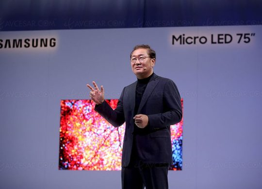 samsung Micro Led CES 2019