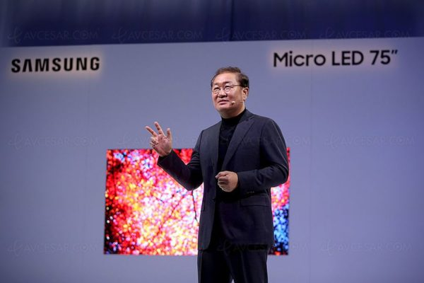 Samsung Micro Led CES 2019 600x400