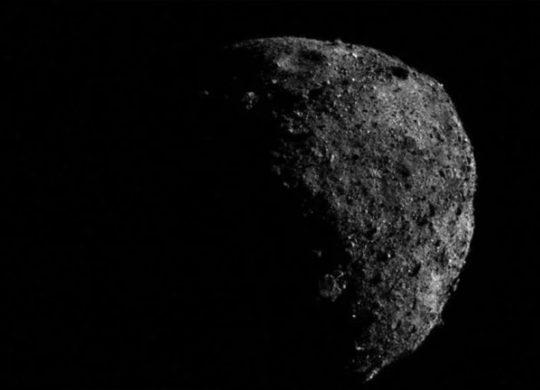 Bennu asteroide