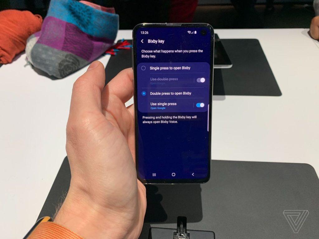 Galaxy S10 Bouton Bixby Reconfigure 1024x768