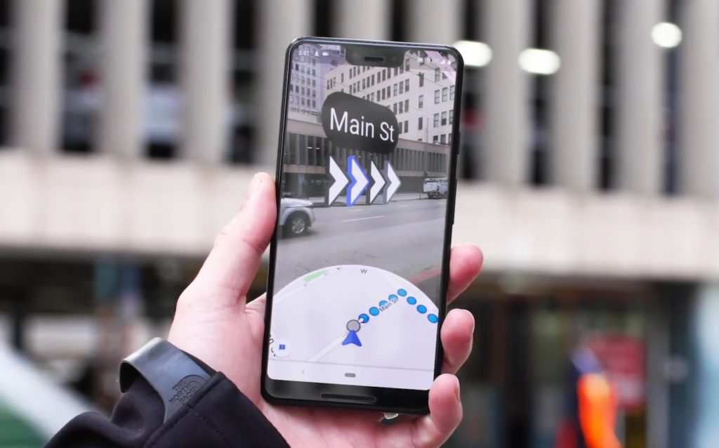 Google Maps Realite Augmentee GPS Smartphone 1024x638