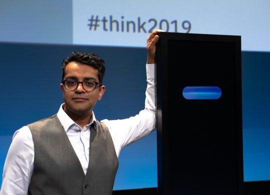 Harish Natarajan et Projet Debater IBM
