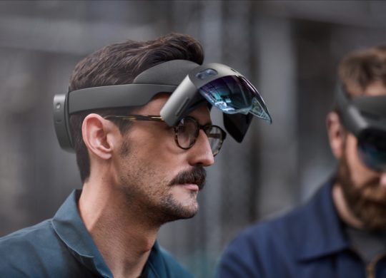 HoloLen 2 Ecrans Releves