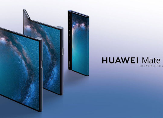 Huawei Mate X Pliable