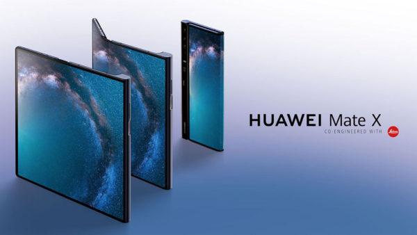 Huawei Mate X Pliable 600x338