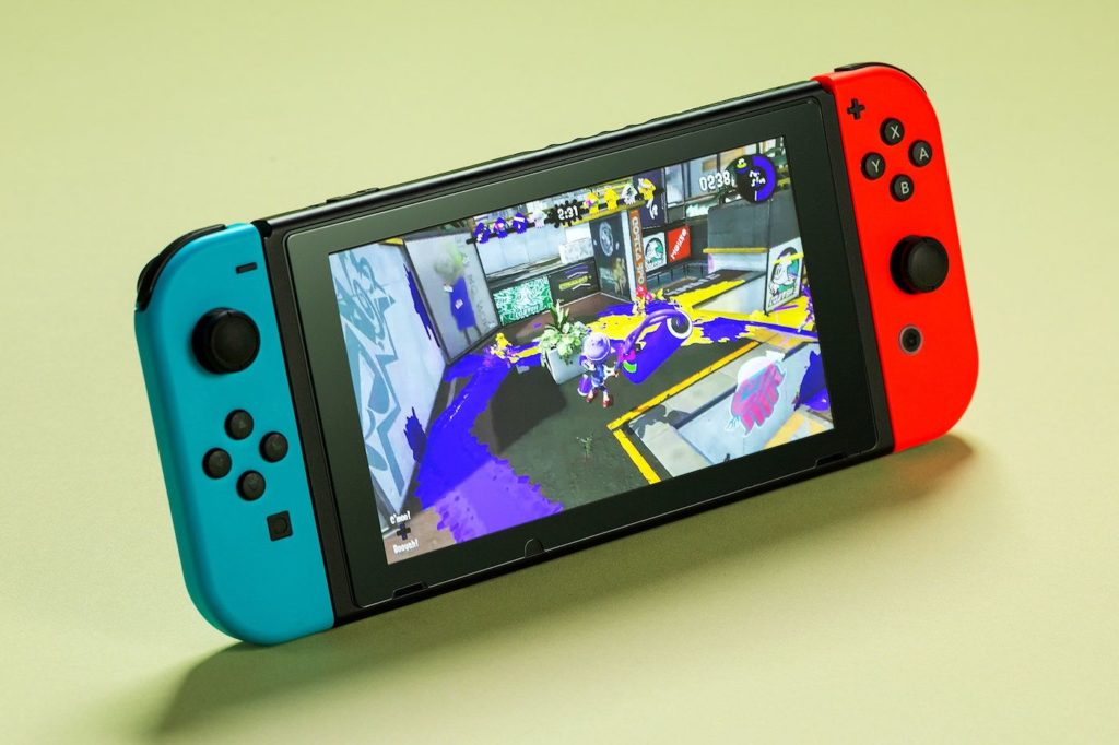 Nintendo Switch Neon Splatoon 2 1024x682