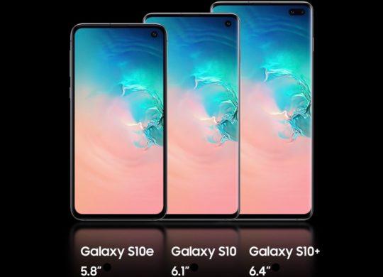 Officiel Galaxy S10 S10e S10 Plus Avant