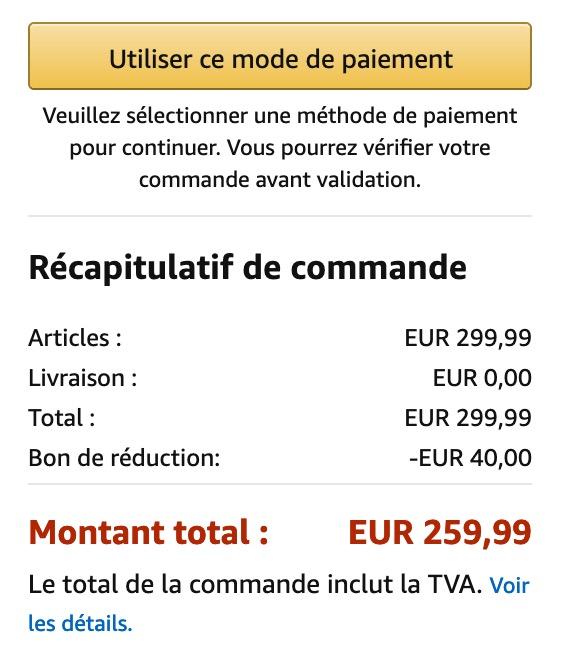 Promo 40 Euros Switch