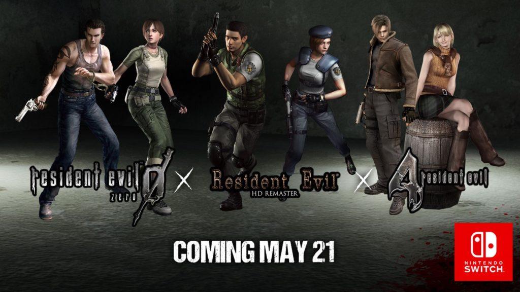 Resident Evil 0 1 Et 4 Switch 1024x576