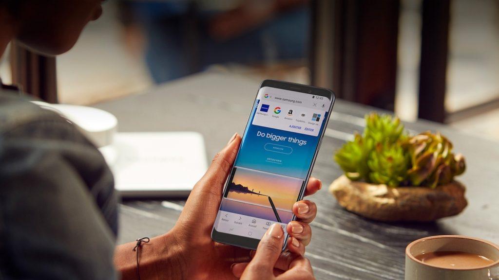 Samsung Internet Navigateur Android 1024x576